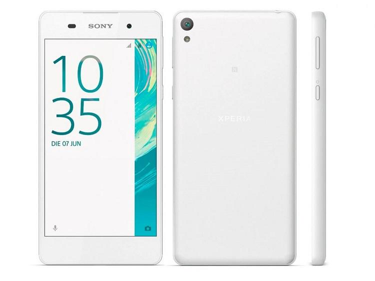 مشخصات فنی گوشی سونی اکسپریا E5