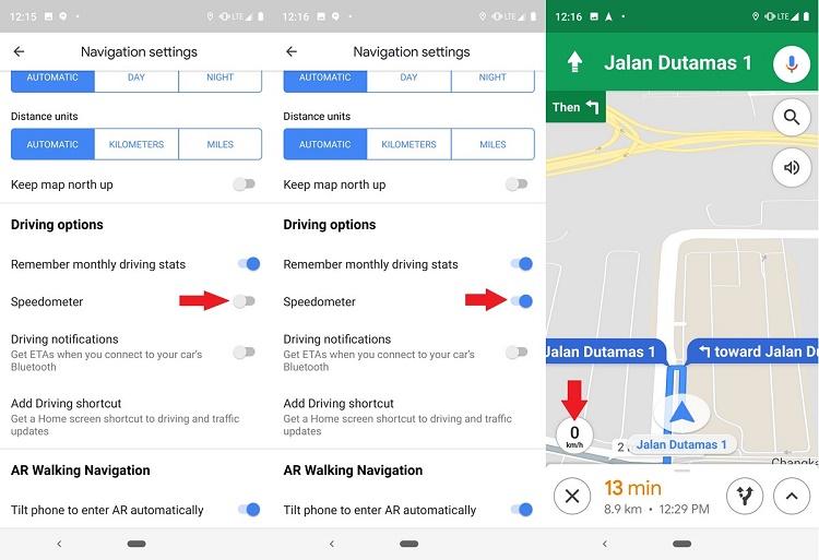 چگونه سرعت سنج گوگل مپ را فعال کنیم؟