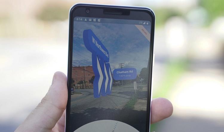 ویژگی جدید Live View گوگل مپ در دسترس بیشتر تلفنهای اندروید و iOS قرار میگیرد
