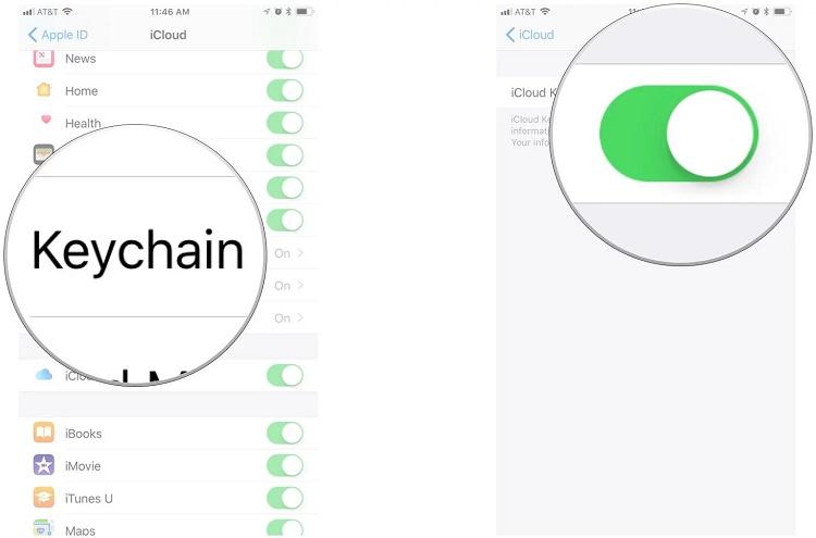ویژگی iCloud Keychain چیست و چطور پسوردها را ذخیره می کند؟