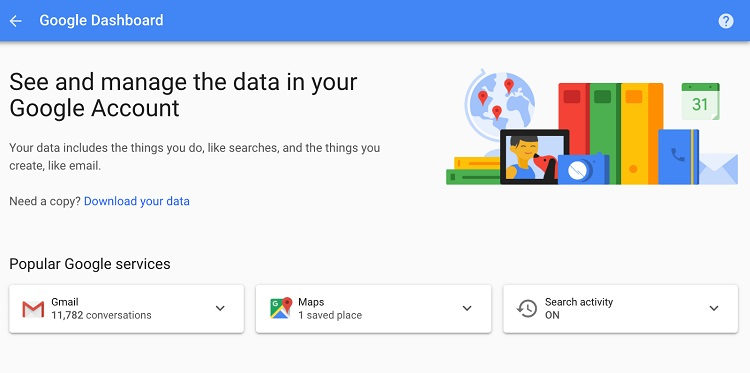 کنترل کردن اطلاعات تبلیغاتی خود در گوگل