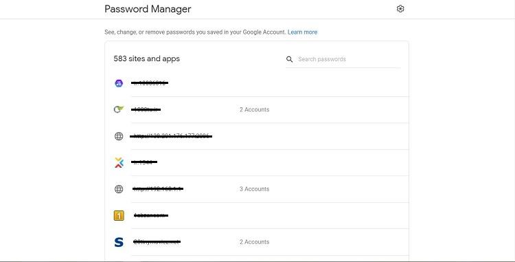 گوگل به کاربران اندرویدی اجازه میدهد که بعضی از پسوردها را برای همیشه فراموش کنند