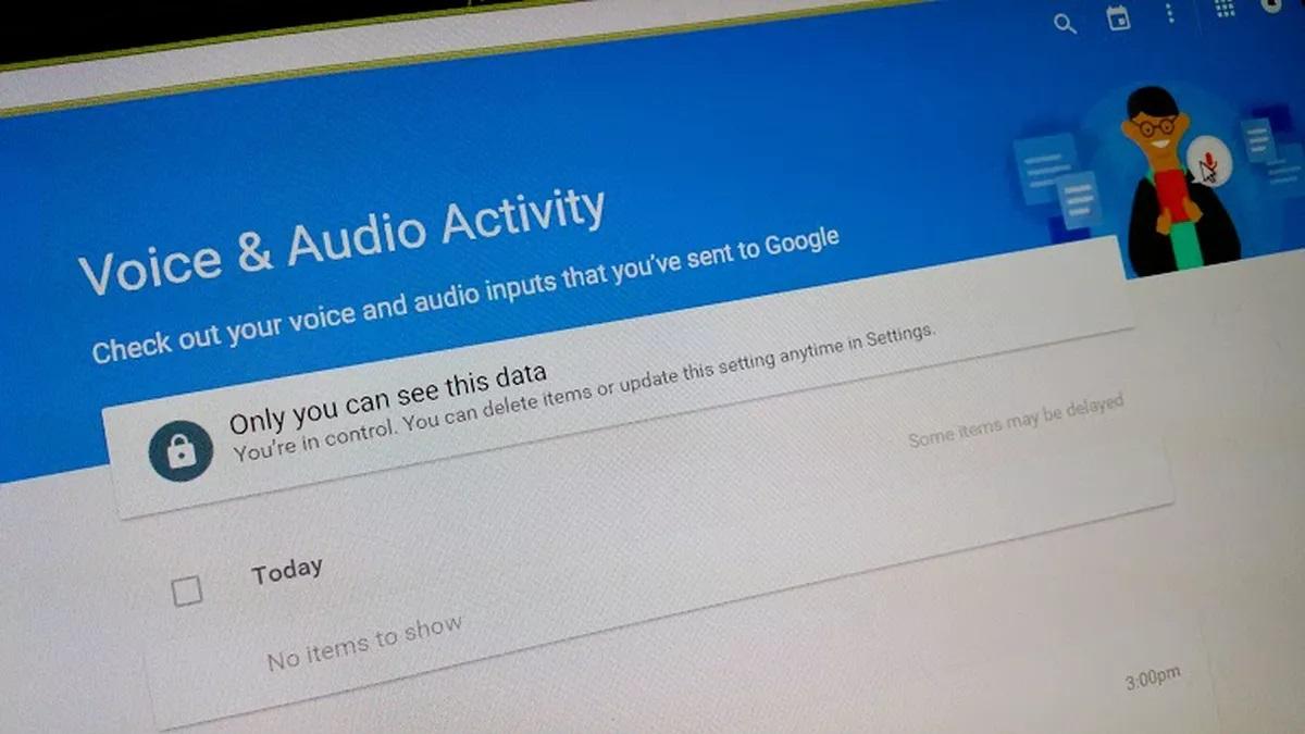 گوگل تمام جستجوهای صوتی را ذخیره میکند
