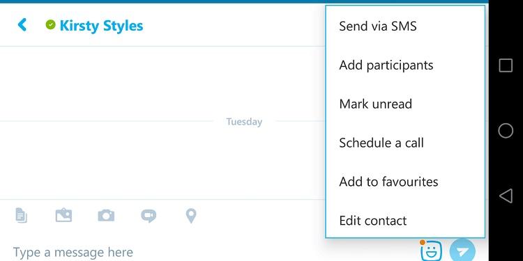 قابلیت های ورژن جدید اسکایپ