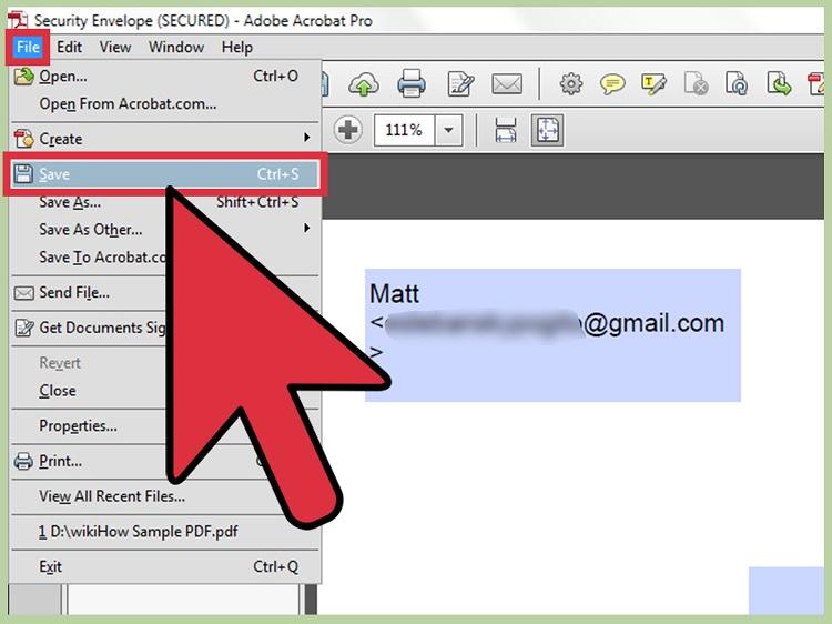 استفاه از برنامه Adobe Acrobat Proبرای برداشتن رمز عبور فایل پی دی اف
