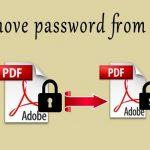 برداشتن رمز عبور فایل پی دی اف
