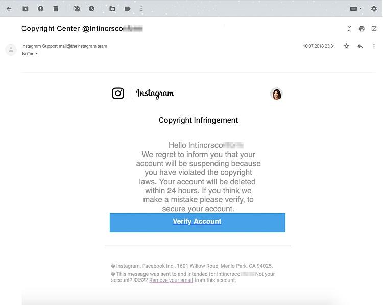روش جدید مقابله اینستاگرام با حملات فیشینگ