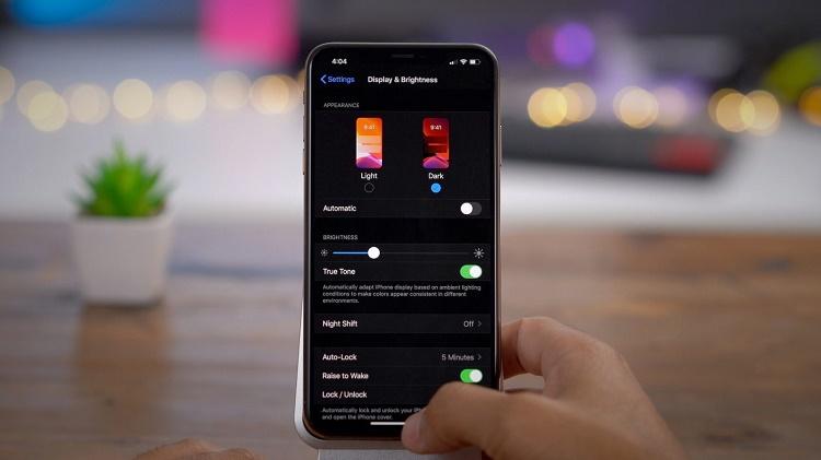 فعال کردن دارک مود در iOS