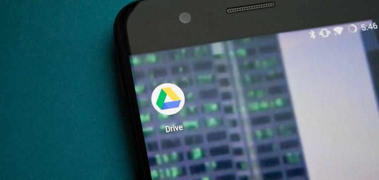 فعال کردن دارک مود گوگل درایو در اندروید 10