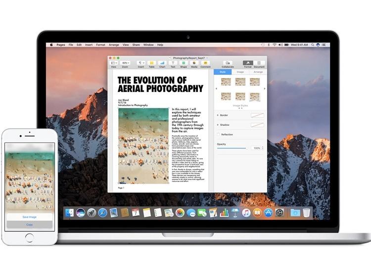نحوه کپی و پیست کردن اطلاعات بین دستگاه های اپل