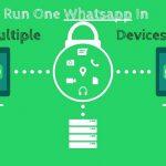 استفاده از چندین اکانت واتساپ در نسخه وب