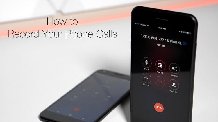 ضبط تماس تلفنی در دستگاه آیفون یا اندروید