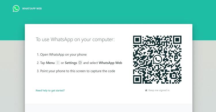 نحوه استفاده از چندین اکانت واتساپ در نسخه وب