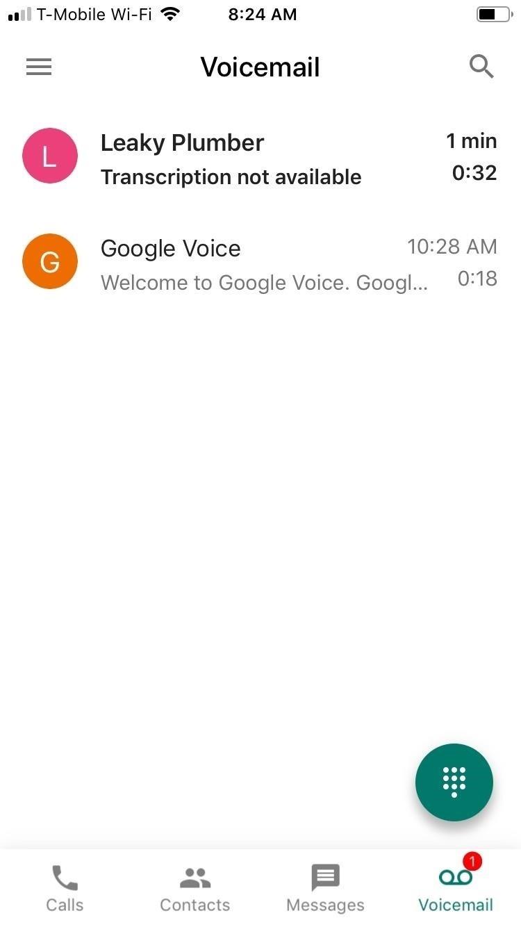 نحوه ضبط تماس تلفنی در اندروید یا آیفون با استفاده از Google Voice
