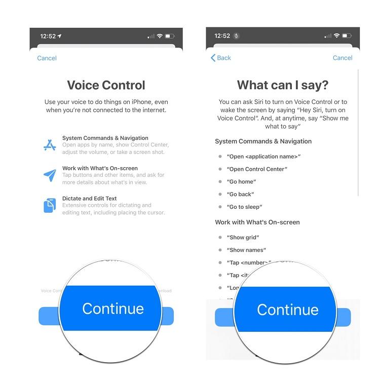 چگونه می توان Voice Control را در آیفون iOS 13 فعال کرد