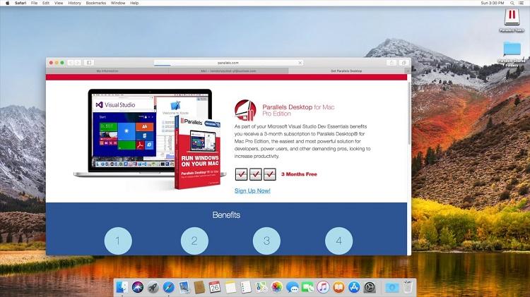 Parallels Desktop در مقابل Parallels Desktop Pro