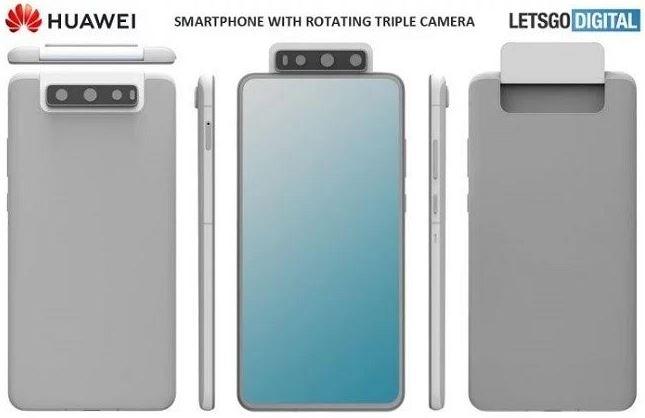 دوربین چرخشی سهگانه موبایل