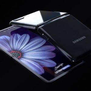 طراحی زیبای سامسونگ Galaxy Z Flip