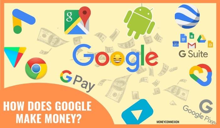 گوگل چگونه درآمد زایی میکند؟