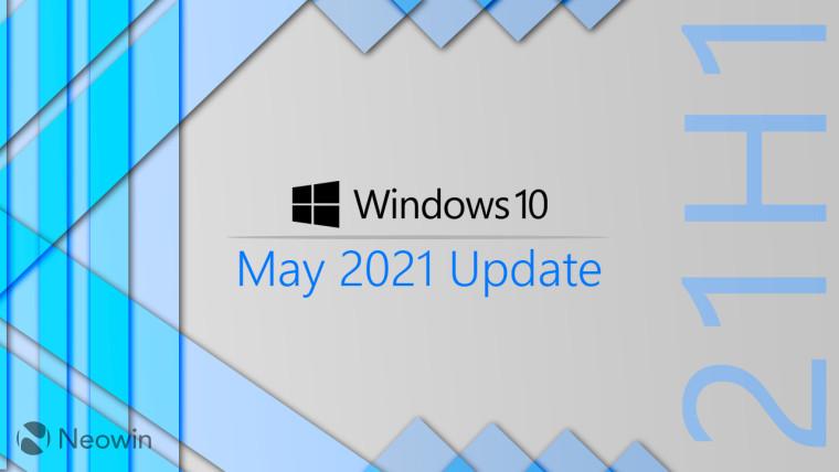 آپدیت می 2021 ویندوز 10 منتشر شد